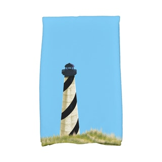 16 X 25-inch OuterBanks Geometric Print Hand Towel