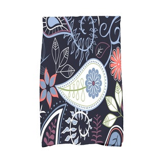 16 X 25-inch Paisley Floral Floral Print Hand Towel