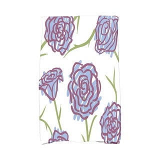 16 X 25-inch Spring Floral 1 Floral Print Hand Towel