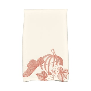 16 X 25-inch Stagecoach Holiday Floral Print Hand Towel