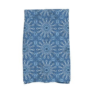 16 X 25-inch Sun Tile Geometric Print Hand Towel