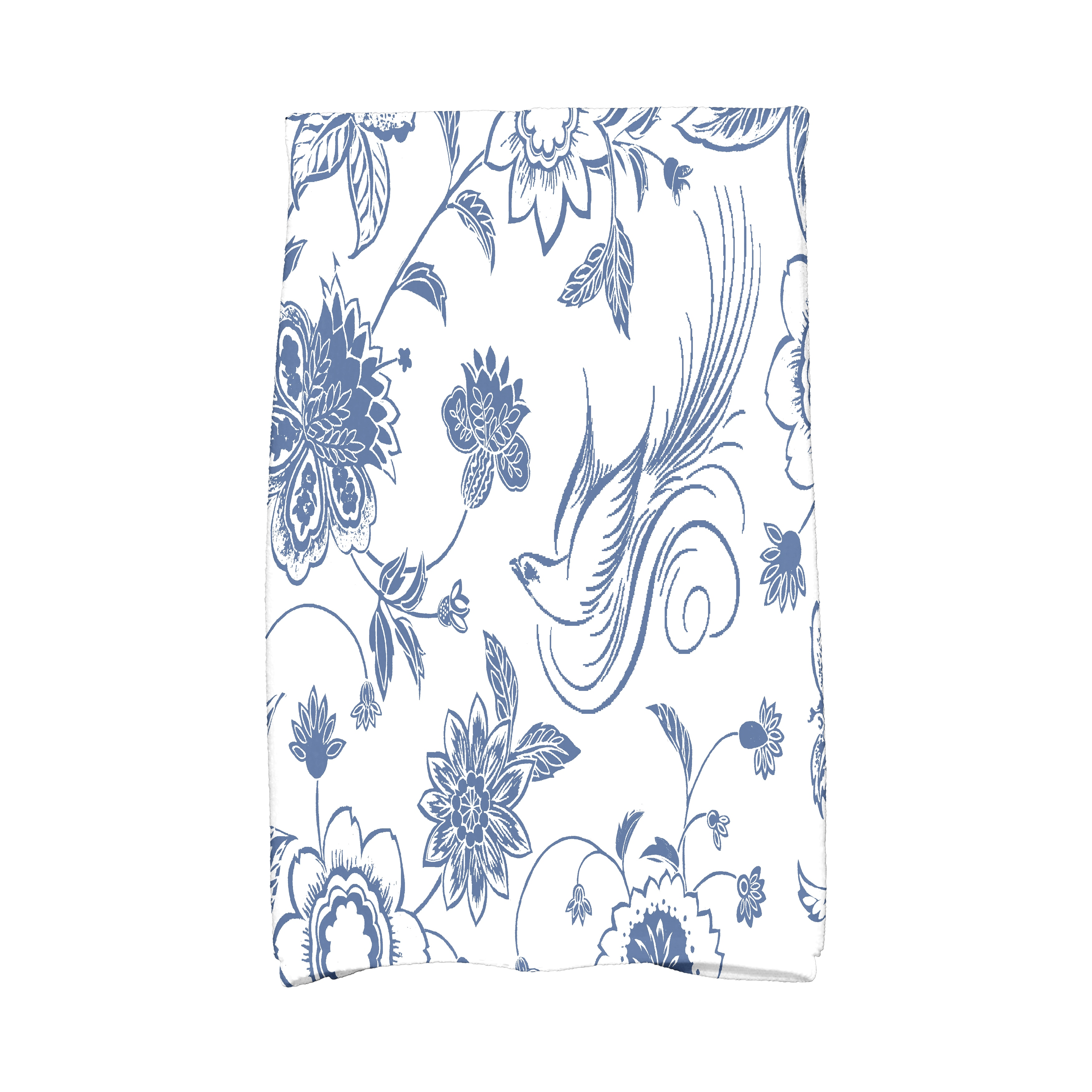 E by Design 16 X 25-inch Traditional Bird Floral Floral P...
