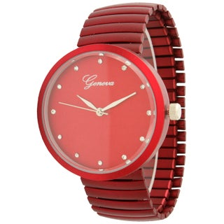 Olivia Pratt Simple Metal Stretchband Watch