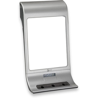 LED Rectangular Lighted Shower Mirror with Accessory Holder