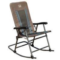 TimberRidge Smooth Glide Lightweight Padded Folding Rocking Chair