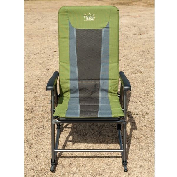 Admirable Shop Timberridge Lightweight Padded Folding Rocking Chair Pabps2019 Chair Design Images Pabps2019Com