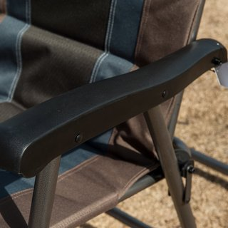 TimberRidge Smooth Glide Lightweight Padded Folding Rocking Chair