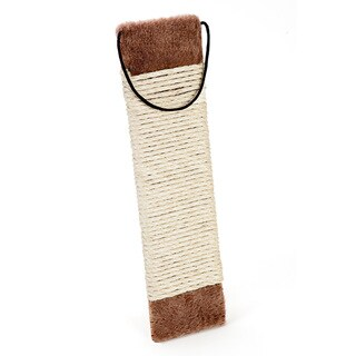 Cat Craft Brown Sisal Rope Hanging Scratch Pad
