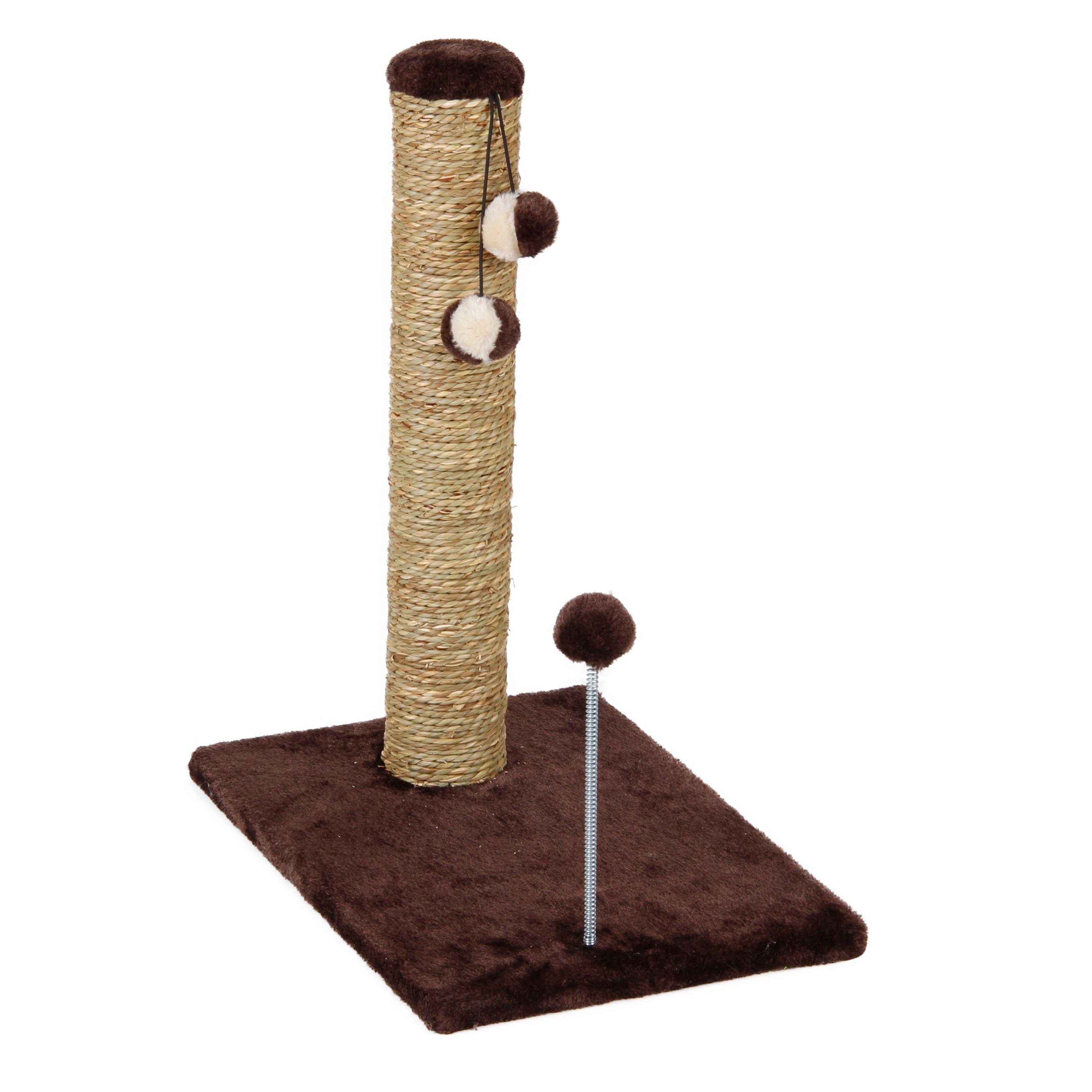 International Cat Craft Seagrass 20-inch Cat Scratcher Wi...