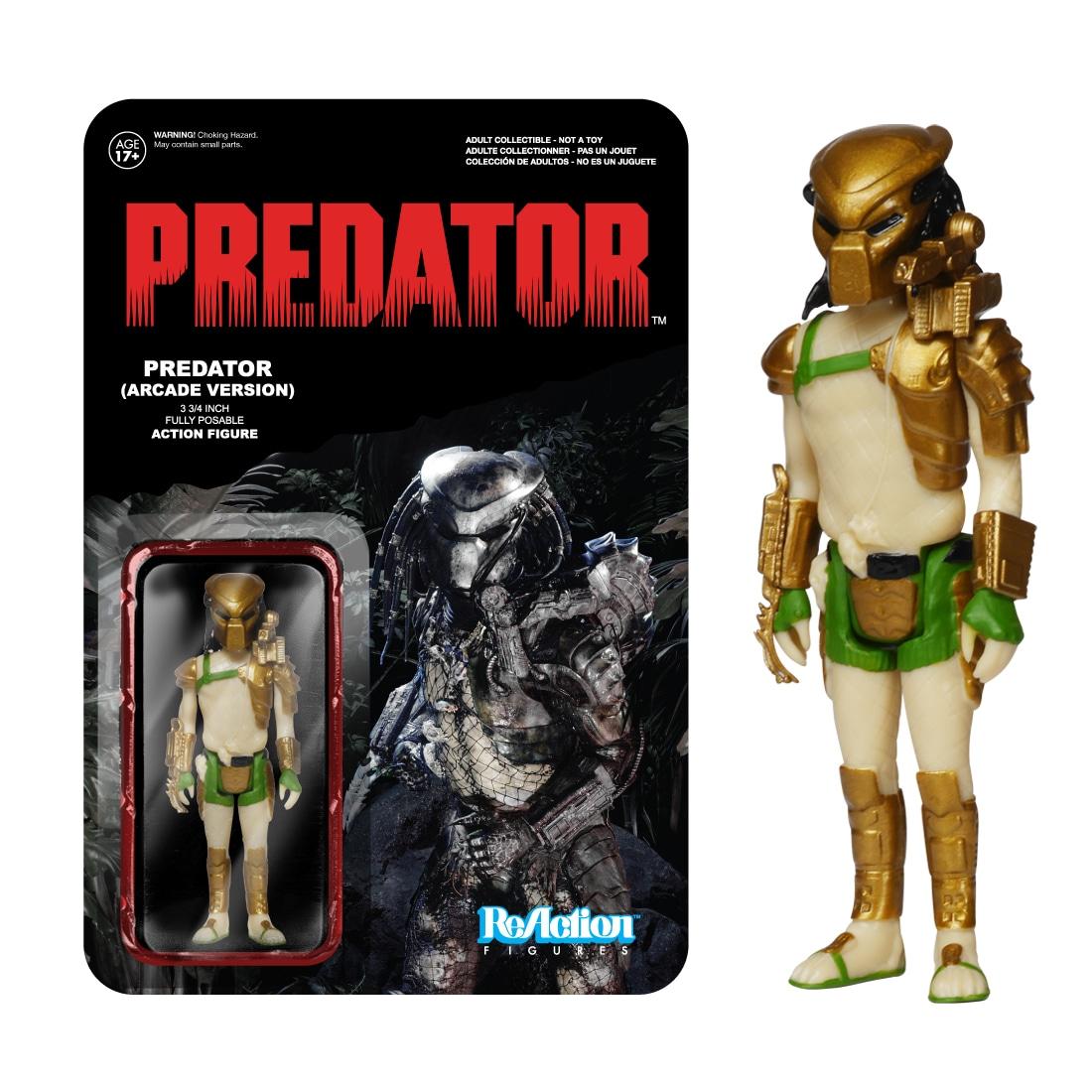 FUNKO INC. Reaction Figures: Predator 3 3/4-inch Fully Po...