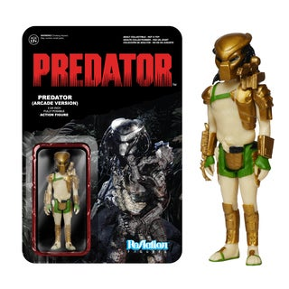 Funko Reaction Figures: Predator 3 3/4-inch Fully Posable Action Figure (Arcade Version)