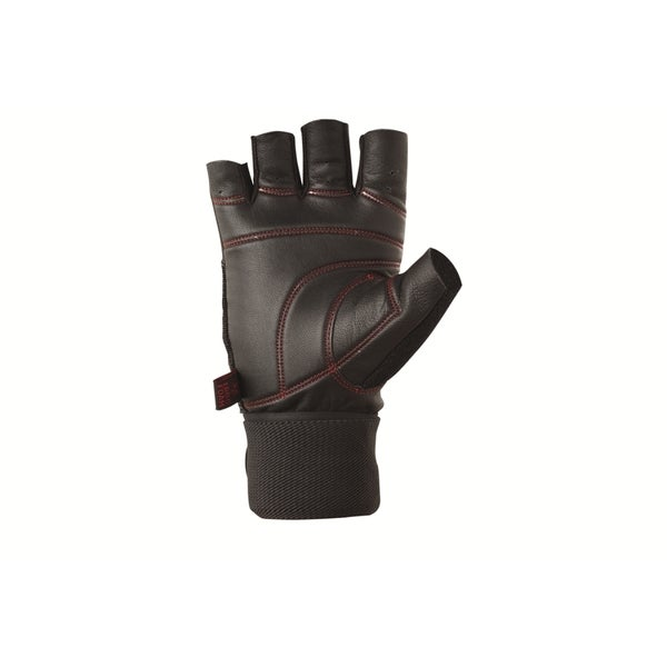 Valeo Pro Ocelot Small Black Wrist Wrap Workout Glove
