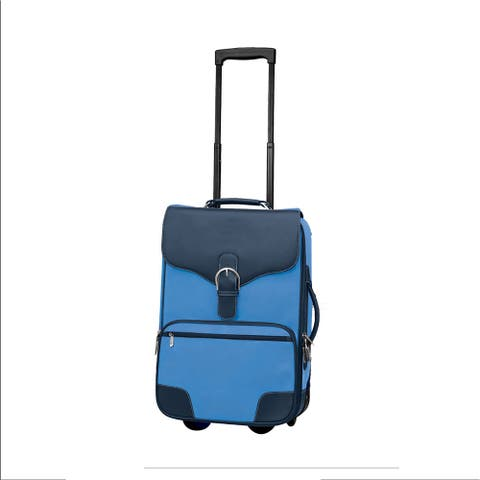 """Goodhope Destination Bellino 21-inch Rolling Upright Carry On Suitcase - 14"""" x 21"""" x 7"""""""