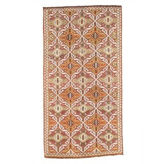 Pasargad Turkish Kilim Hand-woven Multi Lamb's Wool Area Rug (5' x 10')