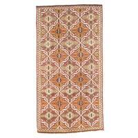 Pasargad Turkish Kilim Hand-woven Multi Lamb's Wool Area Rug (5' x 10')