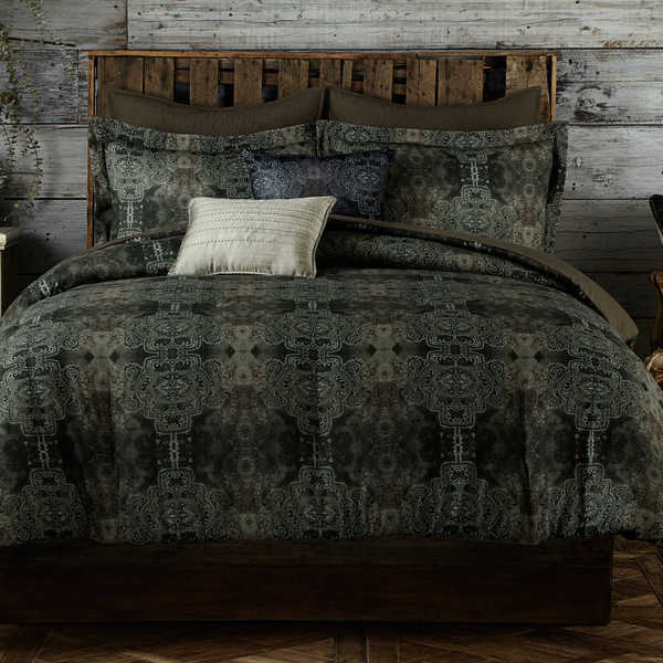 Tracy Porter Gigi Cotton Grey Comforter Set