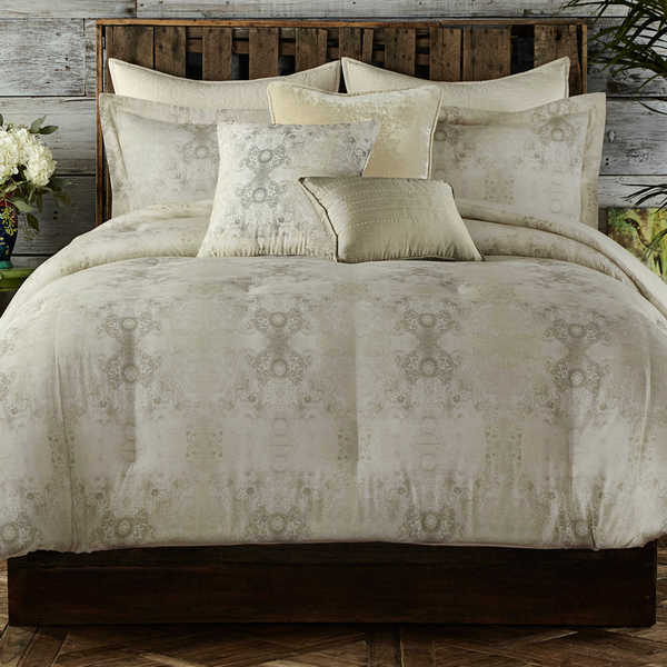 Tracy Porter Gigi Neutral Cotton Comforter Set