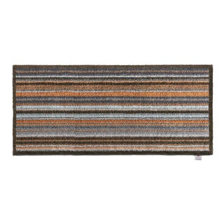 Hug Rug Eco-friendly Dirt Trapper Horizontal Stripes Washable Runner Rug (2' x 5')