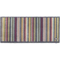 Hug Rug Eco-friendly Dirt Trapper Wavy Stripes Washable Runner Rug - Multi - 2' x 5'