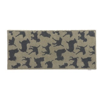 Hug Rug Eco-Friendly Dirt Trapper Dog Themed Washable Runner Rug (2' x 5')