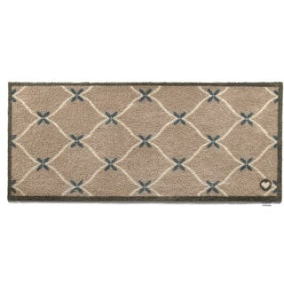 Hug Rug Eco-friendly Dirt Trapper Trellis Washable Runner Rug (2' x 5')