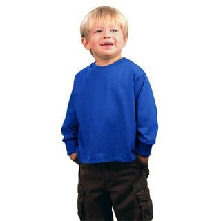 Boys' Royal Blue Long-Sleeve Jersey T-Shirt