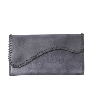 Rimen & Co. Genuine Leather Edging Design Bifold Wallet