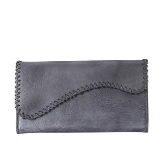 Rimen & Co. Genuine Leather Edging Design Bifold Wallet