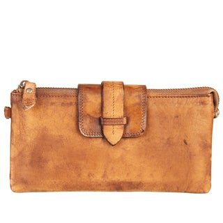 Diophy High-quality Fashion Vintage-dye Leather Clutch Wallet (3 options available)
