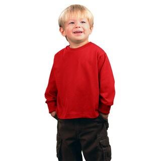 Boys' Red Jersey Long-Sleeve T-Shirt