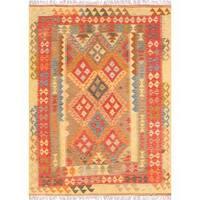 Pasargad Turkish Kilim Hand-woven Multi Area Rug (4' 9 x 6' 6)