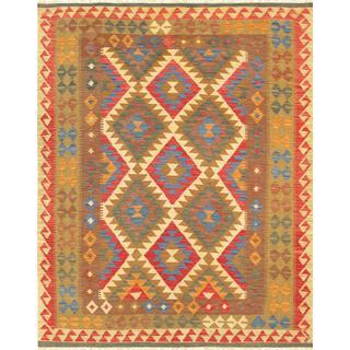 Pasargad Turkish Kilim Hand-woven Area Rug (5' x 6' 5)