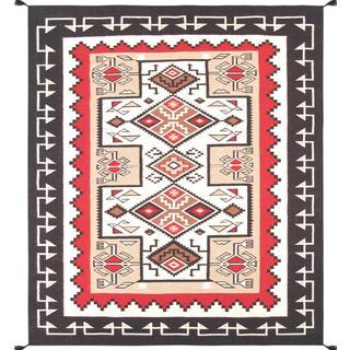 Decorative Hand-woven Wool Area Rug (8' 4 x 9' 10)