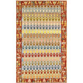 Pasargad Vintage Turkish Anatolian Wool Multi Area Rug (3' 10 x 6' 3)