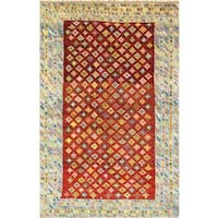 Pasargad Vintage Turkish Anatolian Wool Floral Area Rug - Multi