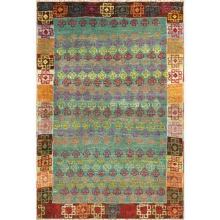 Pasargad Vintage Turkish Anatolian Wool Area Rug - Multi