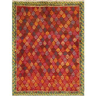 Pasargad Vintage Turkish Anatolian Wool Area Rug (3' 5 x 4' 5)