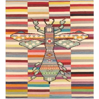 Modern Decorative Hand-woven Wool Area Rug (8' 4 x 9' 9)