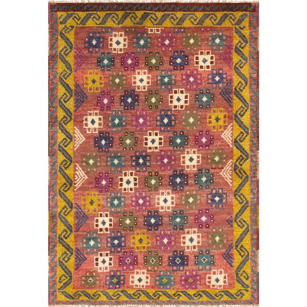 Pasargad Vintage Turkish Anatolian Wool Area Rug - Multi