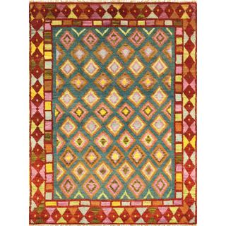 Pasargad Vintage Turkish Anatolian Wool Area Rug (3' 6 x 4' 8)