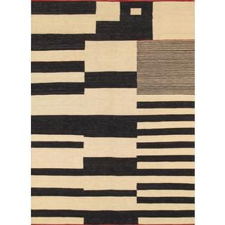 Modern Decorative Hand-woven Wool Area Rug (5' 8 x 7' 10)