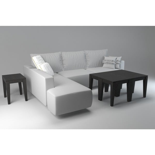 Bamboogle Brazil Collection Bamboo Accent Table   Free Shipping Today    Overstock.com   19146995