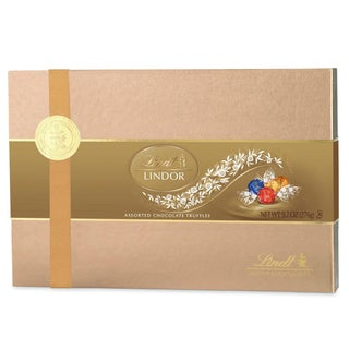 Lindor Assorted Chocolate Truffles 9.7-ounce Gift Box