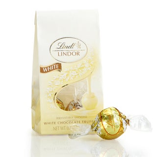 Lindor White Chocolate Mini Bag, 24ct
