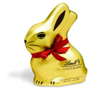 Lindt Milk Chocolate 7-ounce Gold Bunny (Case of 12)