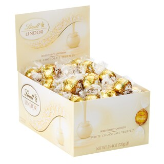 Lindor White Chocolate Truffles (60 Count)