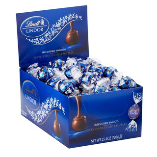 Lindor Dark Chocolate Truffles (60-count)