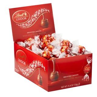 Lindor Milk Chocolate Truffles (Case of 60) https://ak1.ostkcdn.com/images/products/12313468/P19147358.jpg?impolicy=medium