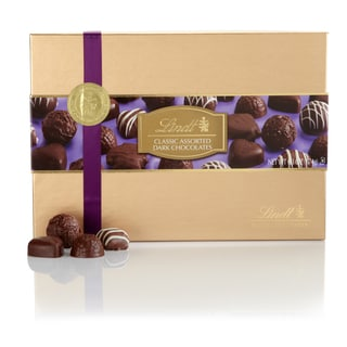 Lindt Classic Dark Chocolate 6.3-ounce Gift Box