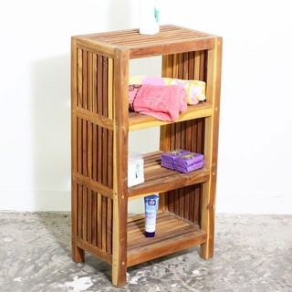 Teak Tower Spacing Shelf (Thailand)